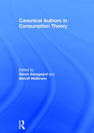 Canonical Authors in Consumption Theory: 1st Edition (Hardback) book cover