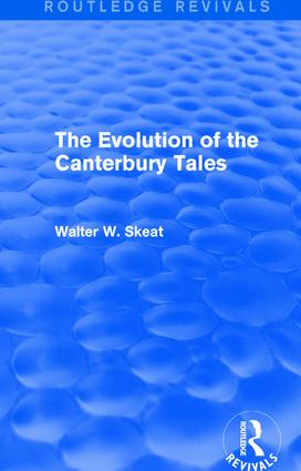 The Evolution of the Canterbury Tales: 1st Edition (Paperback) book cover