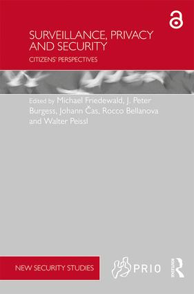 The manifold significance of citizens' legal recommendations on privacy, security and surveillance                            1