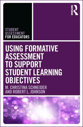 Using Formative Assessment to Support Student Learning Objectives book cover