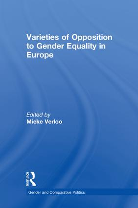 Varieties of Opposition to Gender Equality in Europe book cover