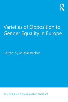 Varieties of Opposition to Gender Equality in Europe (Paperback) book cover
