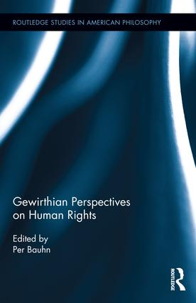 Gewirthian Perspectives on Human Rights: 1st Edition (Hardback) book cover