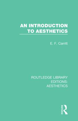 An Introduction to Aesthetics book cover