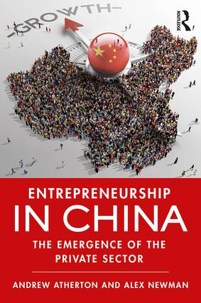 Entrepreneurship in China: The Emergence of the Private Sector, 1st Edition (Paperback) book cover