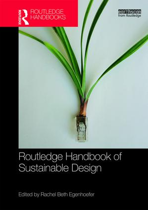 Routledge Handbook of Sustainable Design book cover
