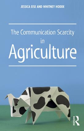 The Communication Scarcity in Agriculture (Paperback) book cover