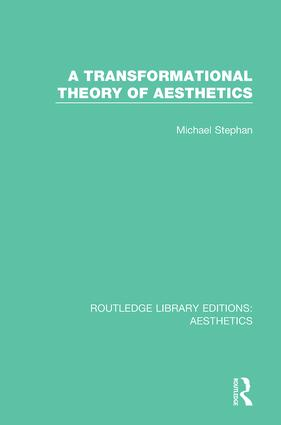 A Transformation Theory of Aesthetics book cover