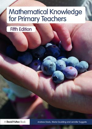 Mathematical Knowledge for Primary Teachers book cover