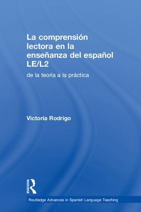 La Comprensión Lectora en la Enseñanza Del Español LE/L2