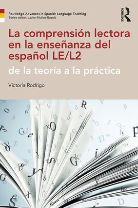La comprensión lectora en la enseñanza del español LE/L2: de la teoría a la práctica book cover