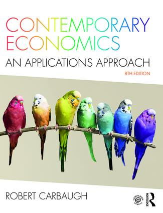 Contemporary Economics: An Applications Approach, 8th Edition (Paperback) book cover