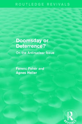 Doomsday or Deterrence?: On the Antinuclear Issue book cover
