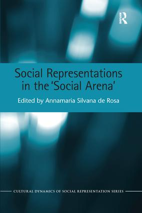 Social Representations in the 'Social Arena' book cover