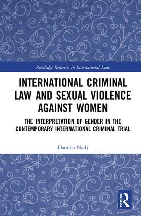 The evolution of gender-based violence in international law