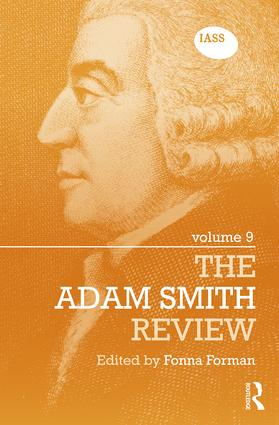 The Adam Smith Review: Volume 9: 1st Edition (Hardback) book cover