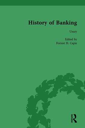 The History of Banking I, 1650-1850 Vol II: 1st Edition (Hardback) book cover