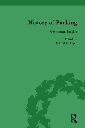 The History of Banking I, 1650-1850 Vol VI: 1st Edition (Hardback) book cover