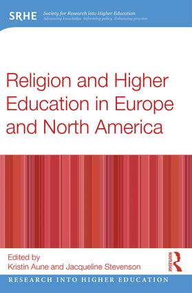 Religion and Higher Education in Europe and North America (Paperback) book cover