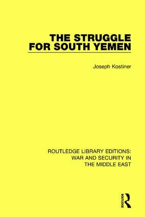 The Struggle for South Yemen book cover
