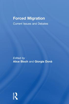 Forced Migration: Current Issues and Debates book cover