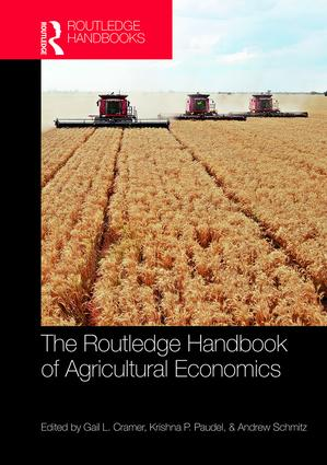 The Routledge Handbook of Agricultural Economics: 1st Edition (Hardback) book cover