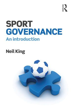 Sport Governance: An introduction book cover