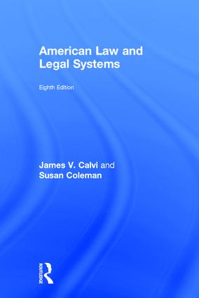 American Law and Legal Systems: 8th Edition (Hardback) book cover