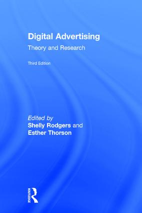 Digital Advertising: Theory and Research, 3rd Edition (Hardback) book cover