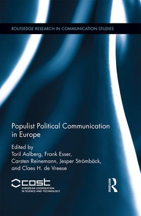 Populist Political Communication in Europe (Hardback) book cover