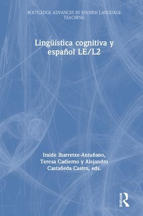Lingüística cognitiva y español LE/L2 book cover