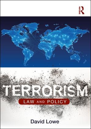 Terrorism: Law and Policy (Paperback) book cover