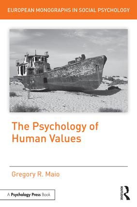 The Psychology of Human Values (Hardback) book cover
