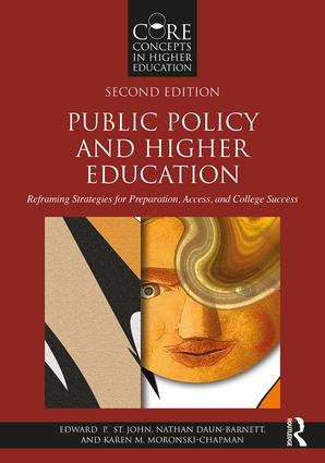 Public Policy and Higher Education: Reframing Strategies for Preparation, Access, and College Success, 2nd Edition (Paperback) book cover