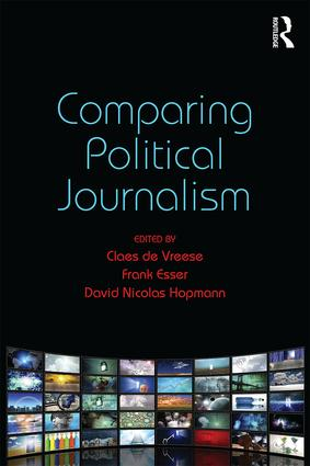 Comparing Political Journalism book cover