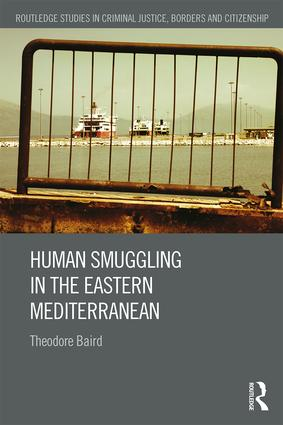 Human Smuggling in the Eastern Mediterranean book cover