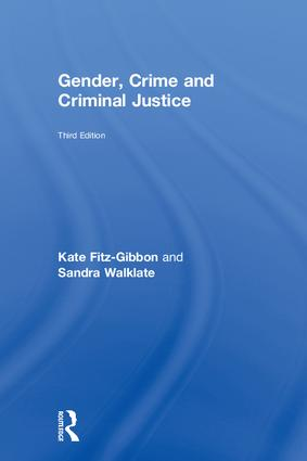 Gender, Crime and Criminal Justice book cover