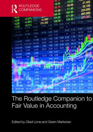 The Routledge Companion to Fair Value in Accounting: 1st Edition (Hardback) book cover