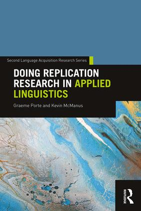 Doing Replication Research in Applied Linguistics: 1st Edition (Paperback) book cover