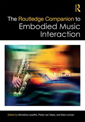 The Routledge Companion to Embodied Music Interaction book cover