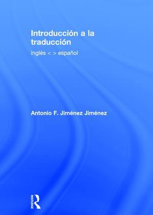 Introducción a la traducción: inglés - español book cover