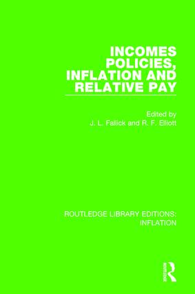 Incomes Policies, Inflation and Relative Pay: A Theoretical Survey and Synthesis book cover