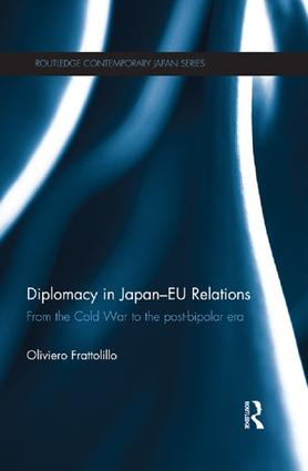 Diplomacy in Japan-EU Relations: From the Cold War to the Post-Bipolar Era book cover