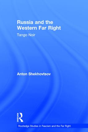 Russia and the Western Far Right: Tango Noir book cover