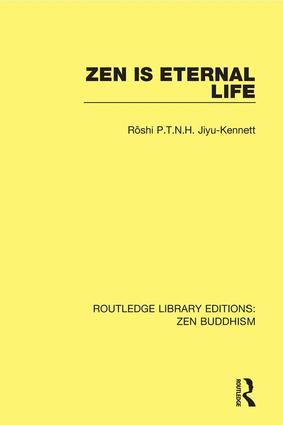Zen is Eternal Life book cover