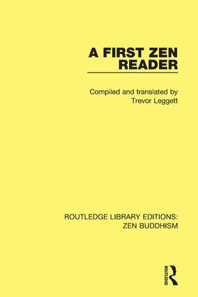 A First Zen Reader book cover