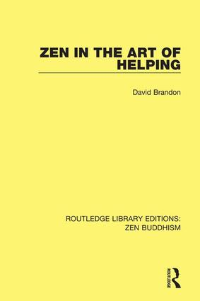 Zen in the Art of Helping book cover