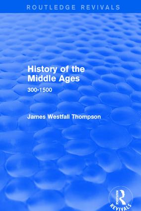 History of the Middle Ages: 300-1500, 1st Edition (Paperback) book cover