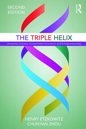 The Triple Helix: University–Industry–Government Innovation and Entrepreneurship, 2nd Edition (Paperback) book cover