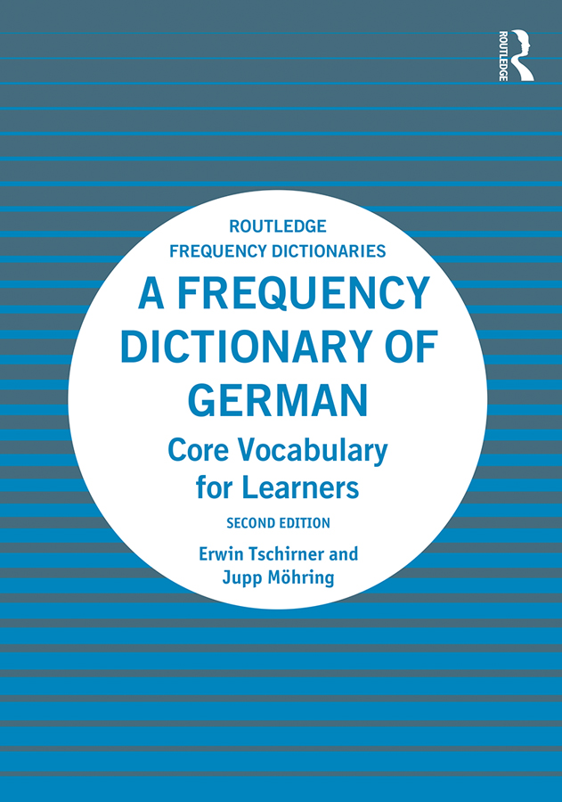 A Frequency Dictionary of German: Core Vocabulary for Learners book cover